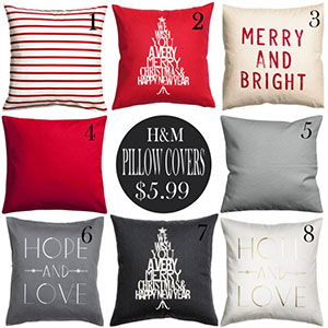 Holiday Decor Deals: H&M