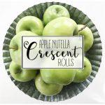 Apple Nutella Crescent Rolls