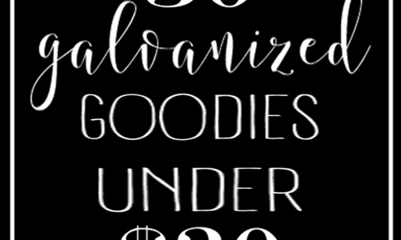 30 Galvanized Goodies Under $30