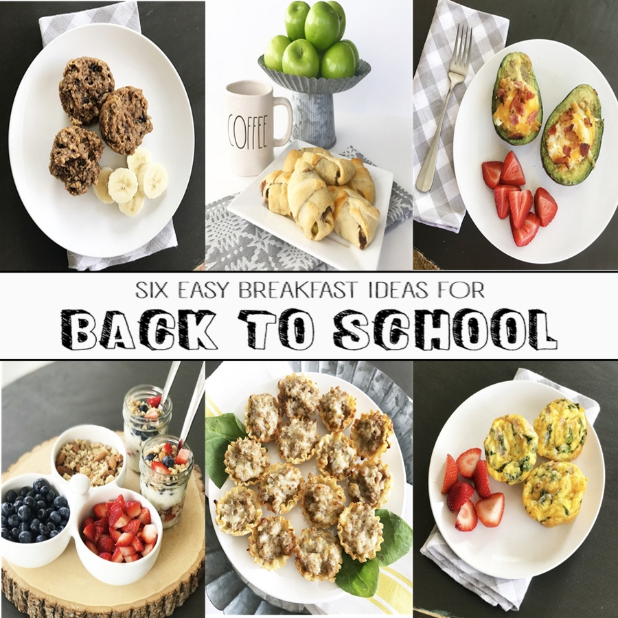 6 Easy Breakfast Ideas For Back To School Crisp Collective
