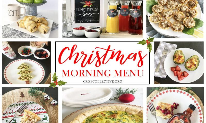 Christmas Morning Menu