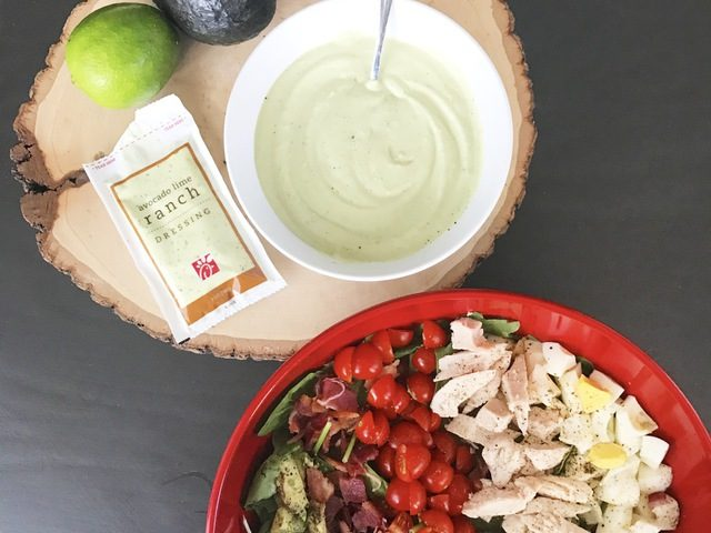 Avocado Lime Ranch Salad
