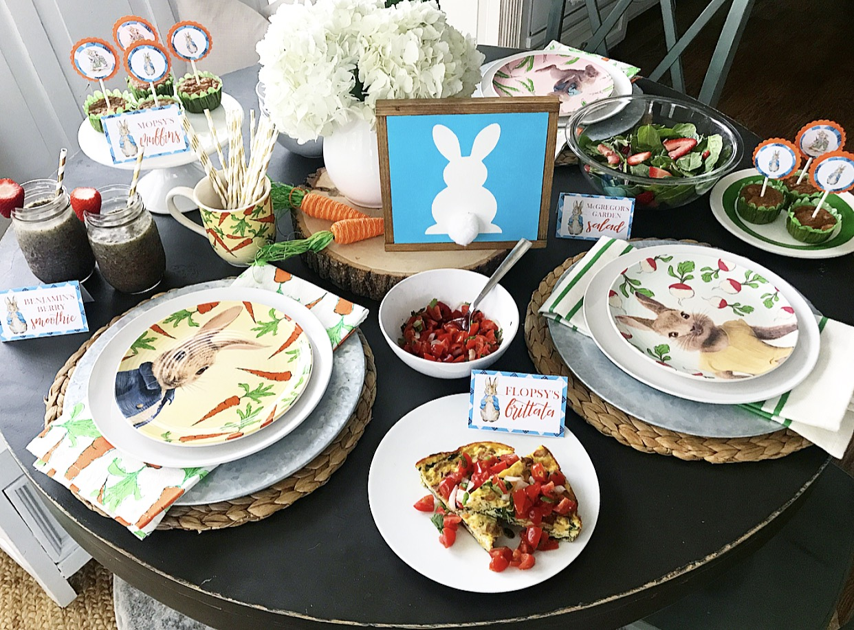 Bunny breakfast 2018 easter brunch recipes and peter rabbit no matter how you celebrate this weekend i hope you are surrounded by friends and family and are filled with the amazing joy that forumfinder Image collections