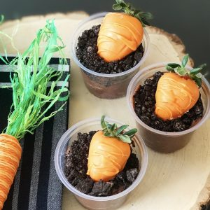 Carrots in the Garden:  A Fun Easter Dessert