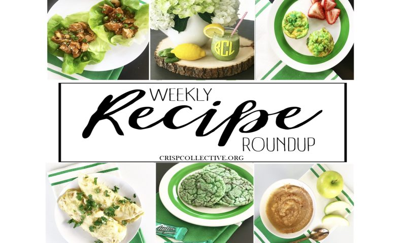 Weekly Recipe Roundup – Week 9