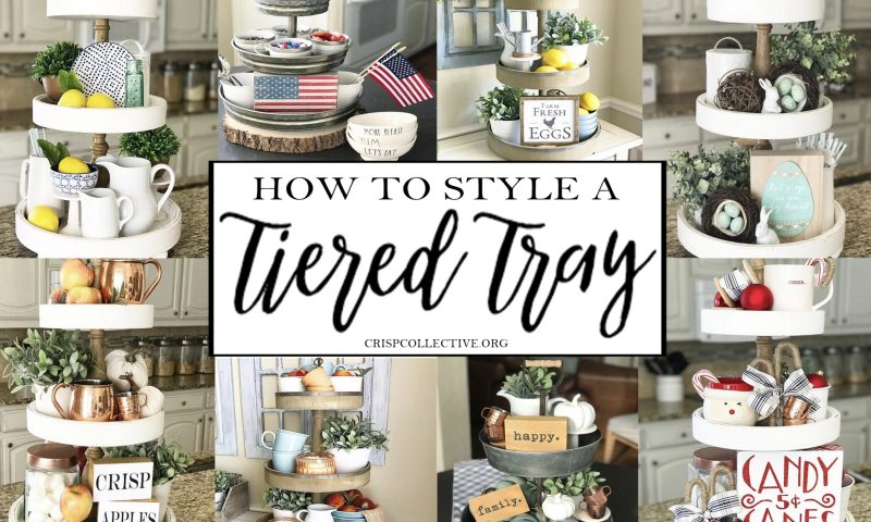 How To Style a Tiered Tray