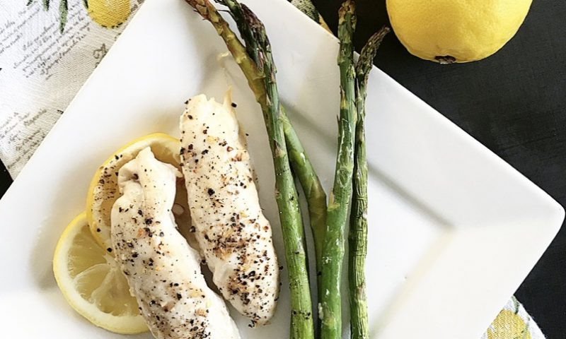 Sheet Pan Lemon Chicken and Asparagus