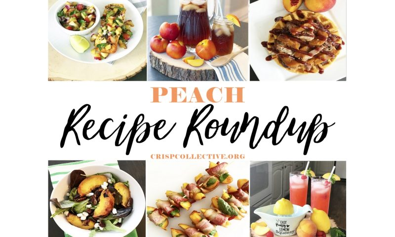 Peach Recipe Round Up