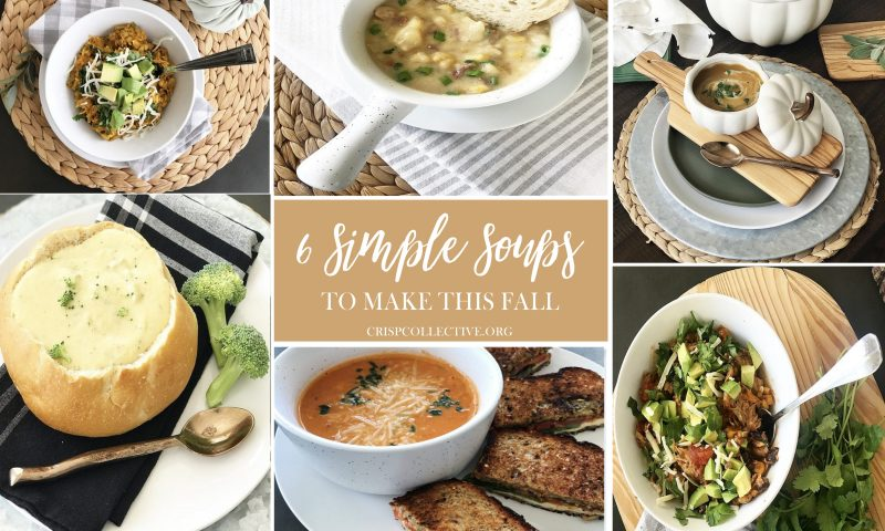 Six Simple Soups to Make This Fall
