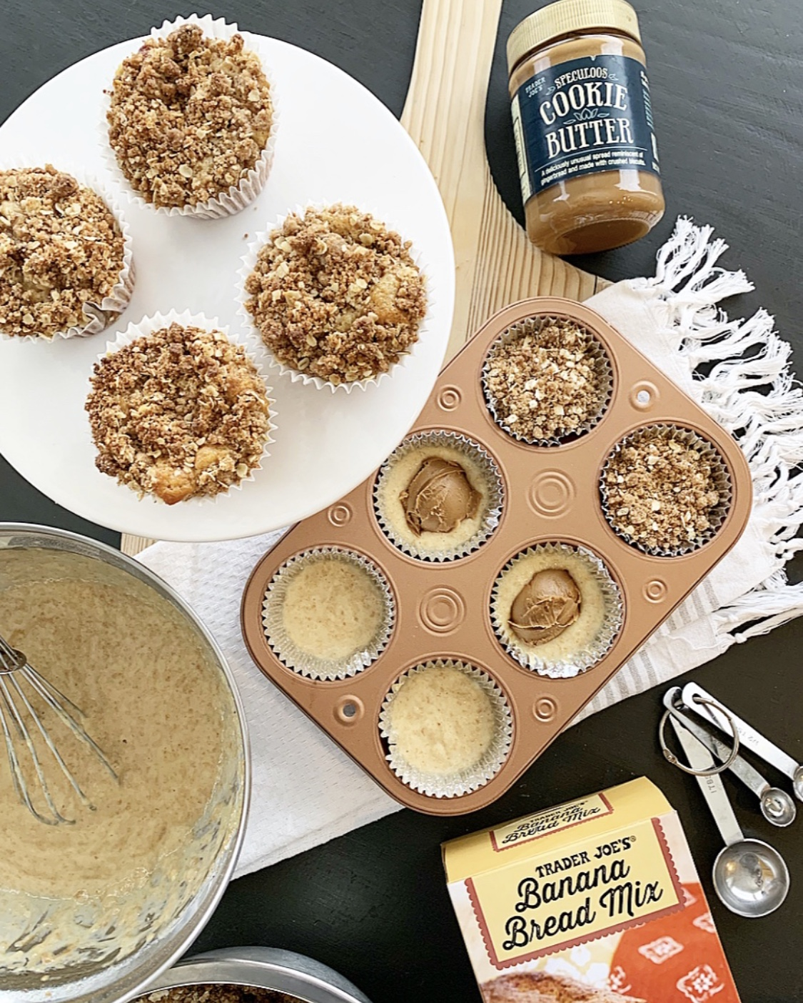 cookie butter muffins