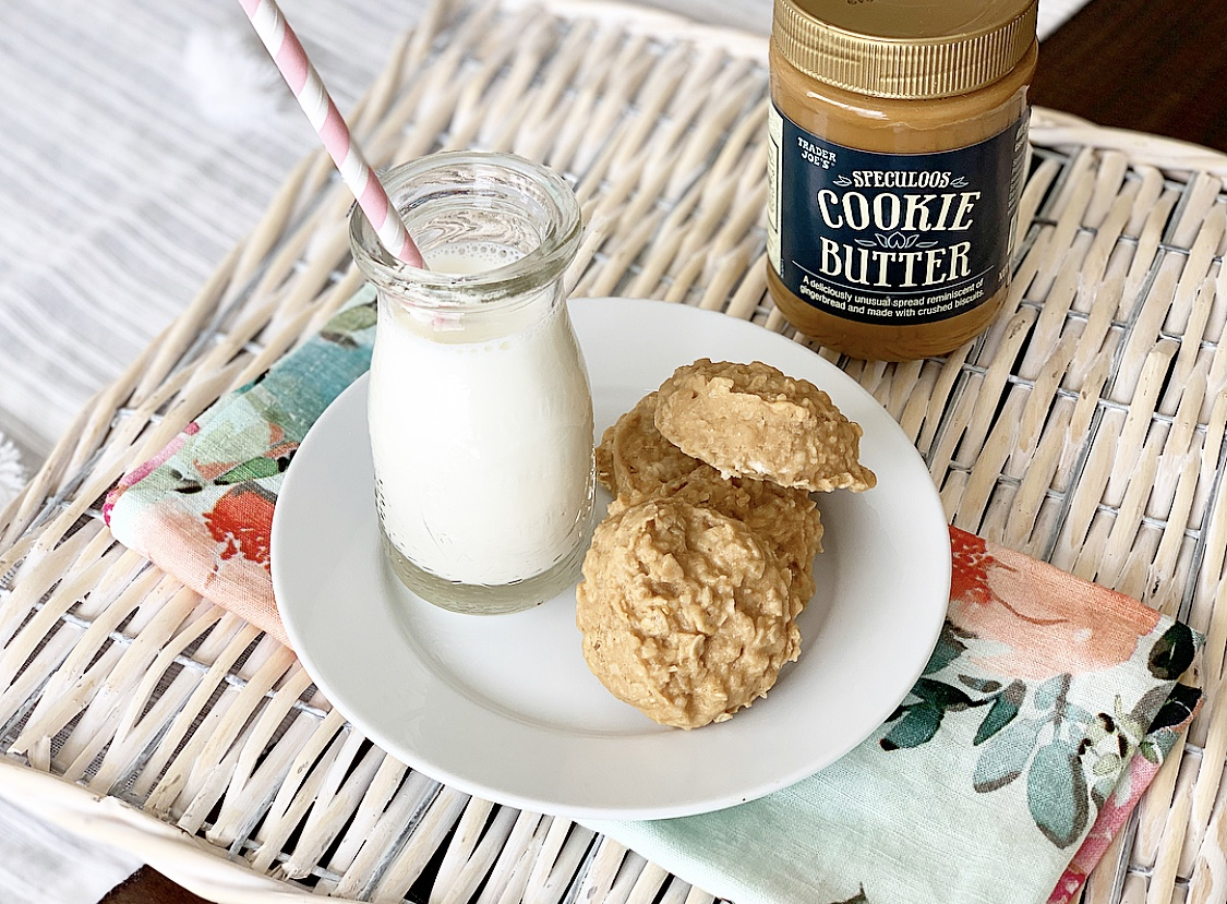 Trader Joe'c cookie butter no bake cookies