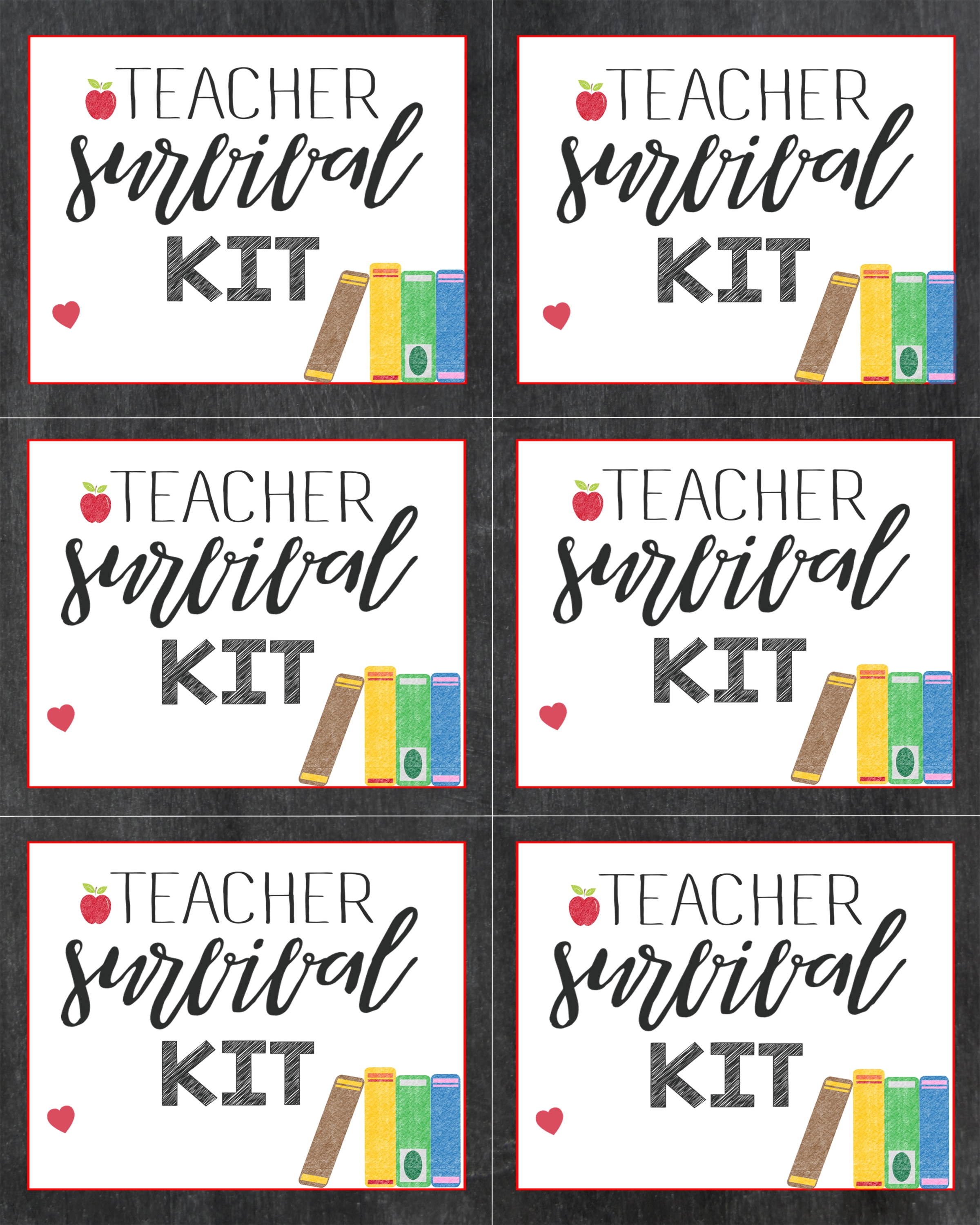 graphic relating to Teacher Survival Kit Printable referred to as Satisfy the Trainer and Initially Working day of College Reward Designs for